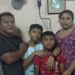 A Mayan family