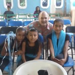 Robert and Mayan children